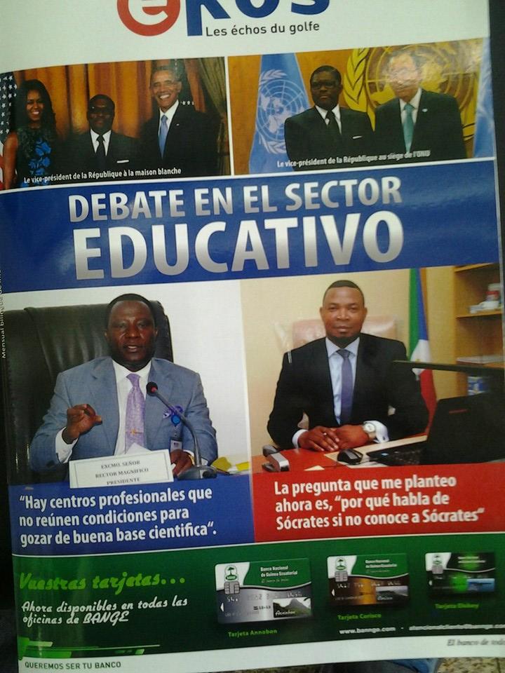 El artículo fue publicado en la Revista Ekos propiedad del Jefe de Prensa de la Corte Suprema de Justicia.