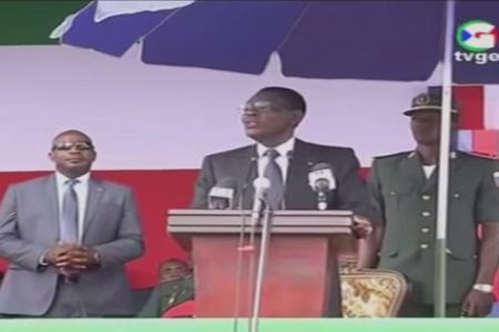 """Vídeo: Obiang """"estamos dejando el período de las vacas gordas y vamos a las vacas flacas"""""""