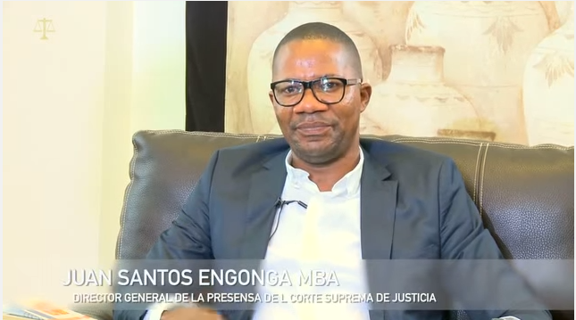 Juan Santos Engonga, un elemento de ASHO que sigue el ejemplo de sus mayores