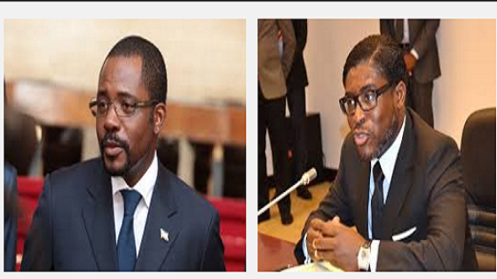 Gabriel Mbega Obiang Lima (Dueñ del Petroleo) & Teodoro Nguema Obiang Mangue (Jefe del Ejército)