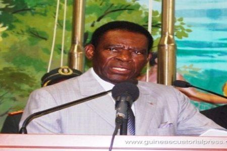 Emely (Genoveva) Nchama en el III Congreso Extraordinario del PDGE
