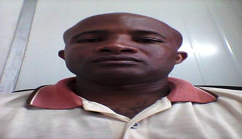 Román Bestue Tabares alias Fíjôxî, Jefe de Personal de la empresa SOMAGEC de Annobón.