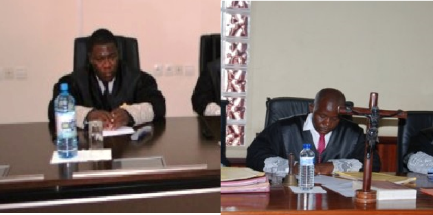 Antonio Ntutumu Nculu Afana y Eliseo Nvó Mangue