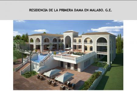 La residencia privada de Constancia Mangue en Malabo costó 12.244.030,08€ a los Guineanos