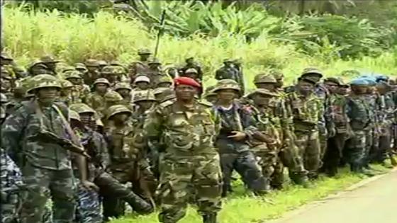 GUINEA ECUATORIAL.- El ejército moderno y la disciplina