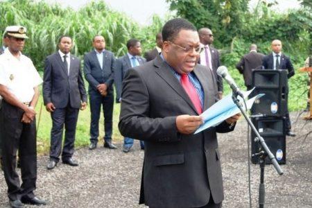 Réplica del Ministro de Seguridad Nacional de Guinea Ecuatorial Nicólas Obama Nchama