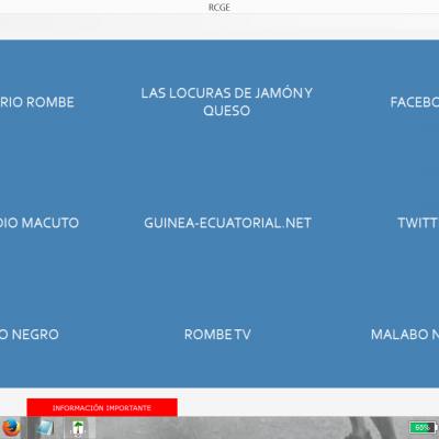 Nueva versión de la aplicación RCGE, incluye liberación de redes sociales