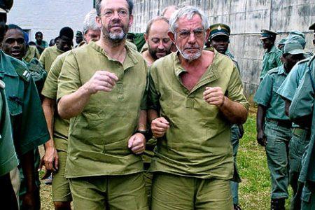 El Mercenario y Golpista Simon Mann nuevo responsable de la Seguridad Exterior de Guinea..