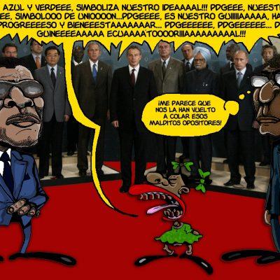 Esto no es un adiós, tan sólo es un hasta luego Sr. Teodoro Nguema Obiang