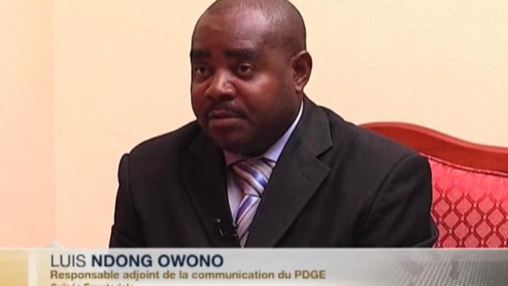 Luis Ndong Owono autor del comunicado y responsable de comunicación del PDGE