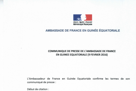 Contradicciones en las declaraciones oficiales de la embajada de Francia