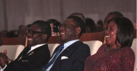 Teodoro Nguema Obiang Mangue; Constncia Mangue Nsue; Teodoro Obiang Nguema Mbasgo