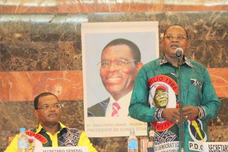 Sobre la presunta financiación ilegal de la campaña electoral del PDGE para las presidenciales 2016