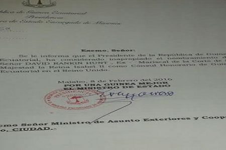 Conflictos internos entre Obiang Nguema y Mari-Cruz Evuna Andeme