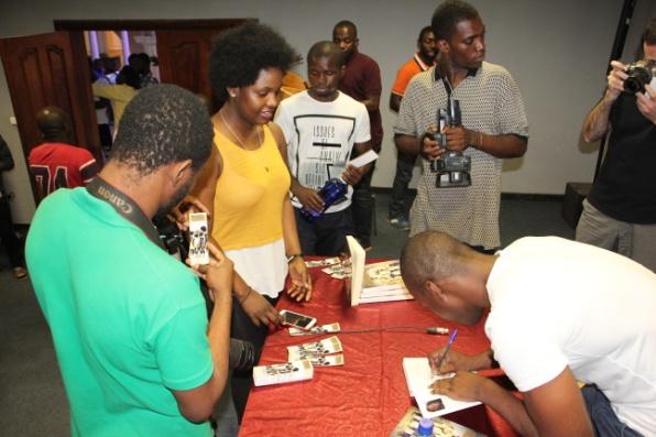 Presentación de la novela en Guinea Ecuatorial