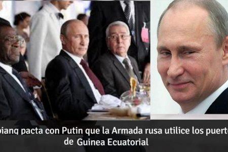 Guinea Ecuatorial propiedad de Rusia y Corea del Norte