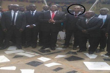 Dimite Ponciano Manuel Mbomio Representante Nacional de jóvenes del Partido CI