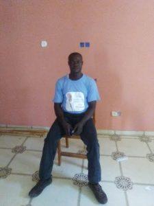 Rafael Mbela coordinador de campaña de UCD en Asonga-Bata