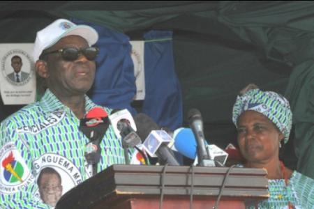 El candidato del PDGE Teodoro Obiang en los famosos documentos de Panamá