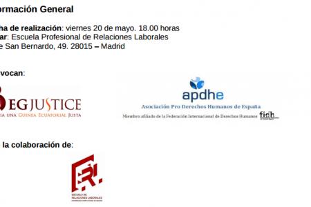 Derechos humanos y democracia en Guinea Ecuatorial