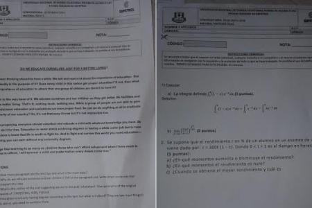 El examen de Física y Química de Gepetrol para acceder a sus becas causa malestar