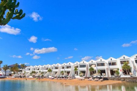 ¿Pertenece a la familia Obiang el complejo hotelero Lanzarote Sands Beach Resort?