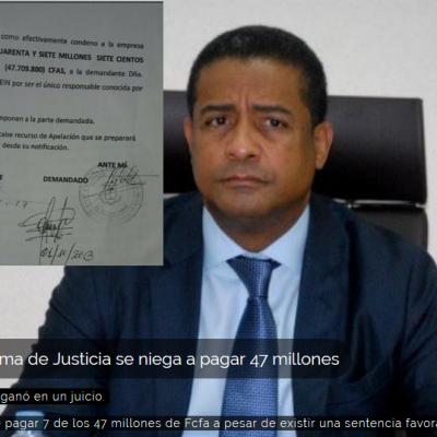 Magistrados de la Corte Suprema se reparten los 40 de 47 millones de Fcfa que una guineana ganó en un juicio