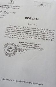 Jerónimo Osa obliga a todos los funcionarios acudir al mitin de Obiang bajo pena de sanción