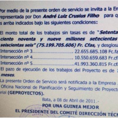 El fraude del proyecto de la ciudad de Oyala II