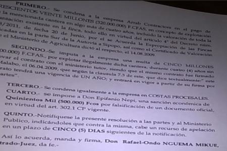 La odisea de una expropiación forzosa en beneficio de la familia de Obiang y sus colaboradores (II)