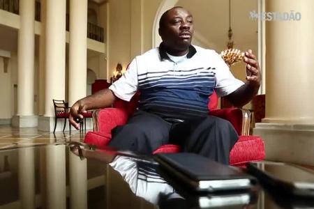 """Vídeo: El ex Embajador de Guinea en Brasil, Matute Tang """"justifica los lujosos coches de Teodorin"""""""