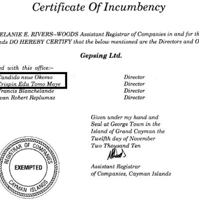 Los vínculos offshore de GEPETROL con Aseng Production y GEPsing, entre otras entidades