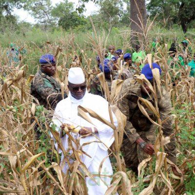 El Gobierno de Adama Barrow exige a Obiang la entrega de Jammeh en 30 días