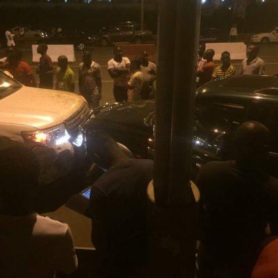 Jesús Ngomo provoca un accidente de tráfico sin víctimas mortales en Malabo